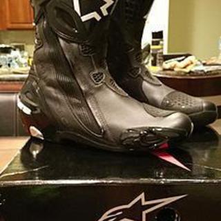 Alpinestars Supertech-R boots (10.5)