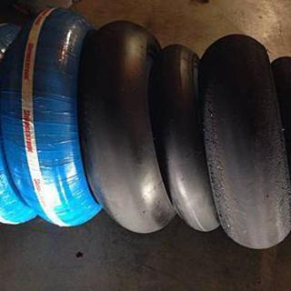New Bridgestone Battlax slicks tires - 3 Sets (Race track use only) 190/R17  & 120/R17