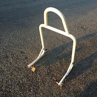 Rear motorcycle stand - $35