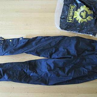 New Belstaff Waxed Cotton Trialmaster Overpants - size 32