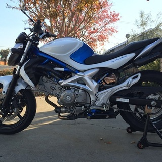 2009 Suzuki SFV650 Low Miles One Owner