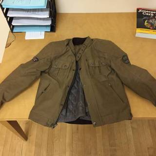 Triumph Motorcycle Jacket - bomber armored cafe style