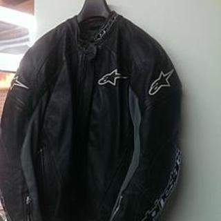 Alpinestars leather jacket        oak