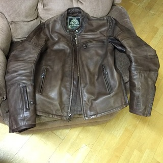 Roland Sands Ronin leather jacket - Size Small - Tobacco color