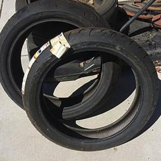 BT016 Front and Rear Tires 180/120 - New never used