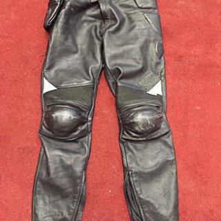 Leather Pants; 34 Tall