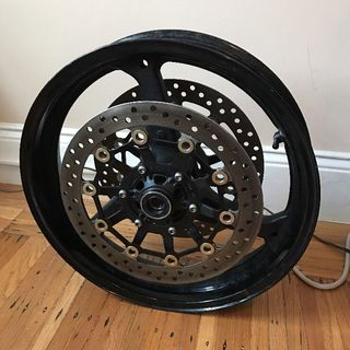 Honda 98T CBR Front Wheel With Rotors