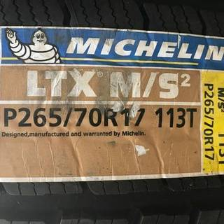 Michelin LTX M/S Defender set of four